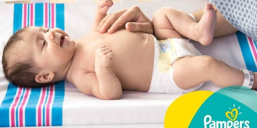 Pampers Swaddlers Size 1 Diapers 148-Count Box Only $11.83 (Just 10¢ Per Diaper)
