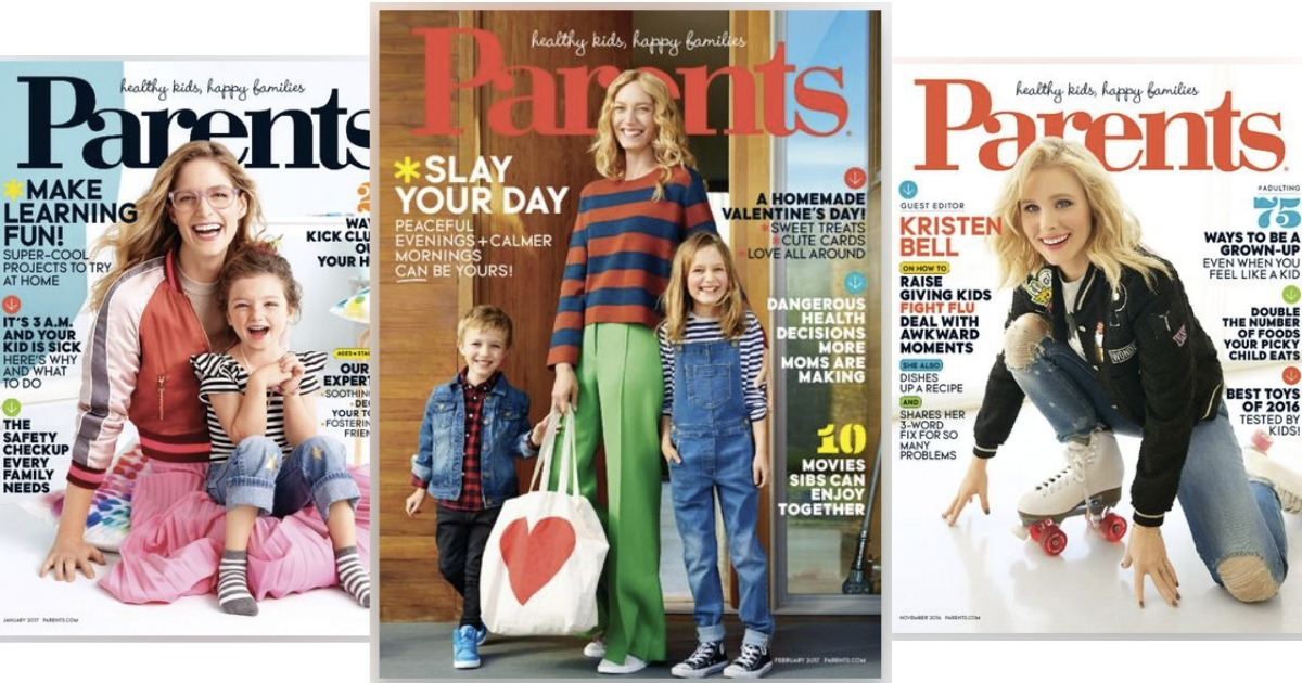 Free 1 Year Parents Magazine Subscription Hip2save