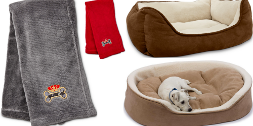 Petco: Up To 60% Off Pet Bedding Items = Plush Throw Only $3.99 & More