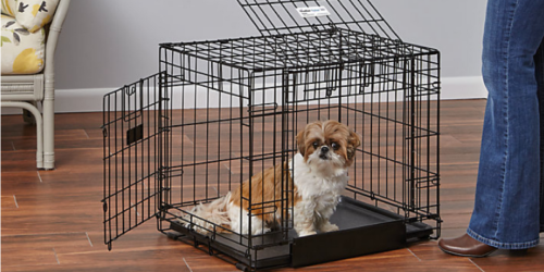 Petco: Up To 70% Dog Kennels = Double Door Pet Crate Only $24.37 (Regularly $79.99+) & More