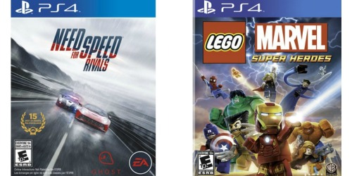 Best Buy: Need for Speed Rivals and Lego Marvel Super Heroes PlayStation 4 Games Only $14.99 Each