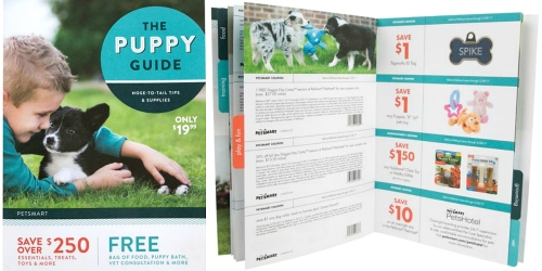 PetSmart: 2016 Puppy Guide Filled with $250 in Coupons ONLY $19.99 + Puppy Events & More