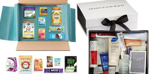 Amazon Prime Members: Sample Boxes Starting at $4.99 + Receive Equivalent Credit for Future Order