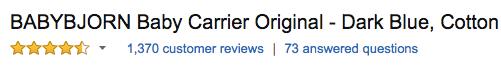 babybjorn reviews