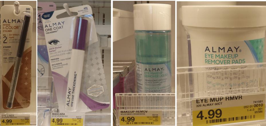 Target Hot Almay Cosmetics Makeup Removers Only 49 Hip2save