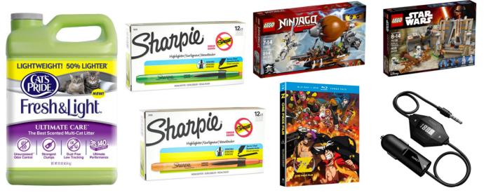 Amazon Amp Other Deals Save Big On Sharpie Lego Barilla