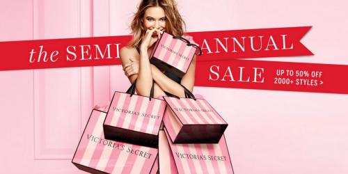 Victoria's Secret: Semi-Annual Online Sale Now Live = Fragrance Mini Mists Only $2.99 (Reg. $10) & More