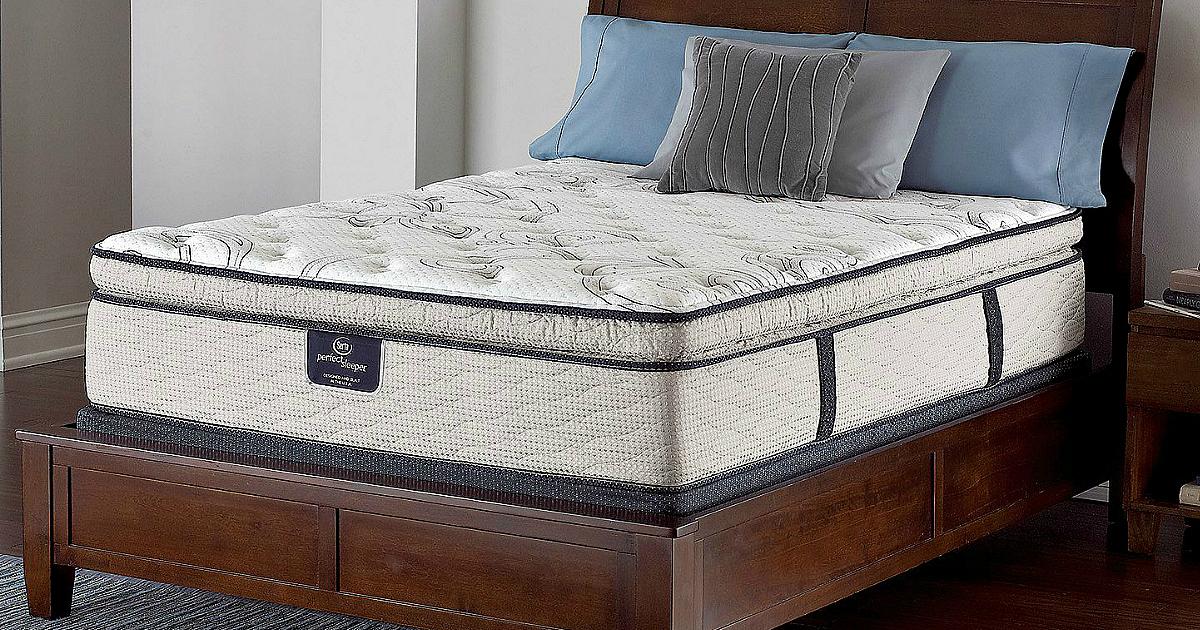 Serta Firm Pillowtop Queen Mattress Set