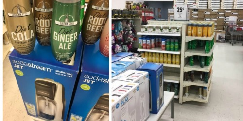 Kmart Clearance Find: SodaStream Jet Machines Only $22.99 + SodaStream Syrup Only 25¢