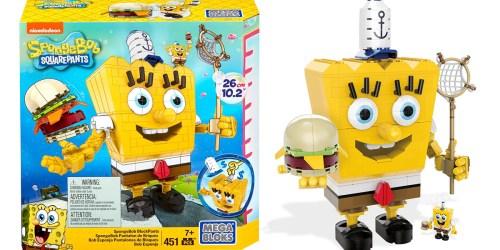Amazon: Mega Bloks SpongeBob SquarePants Set ONLY $15.02 (Regularly $39.99)