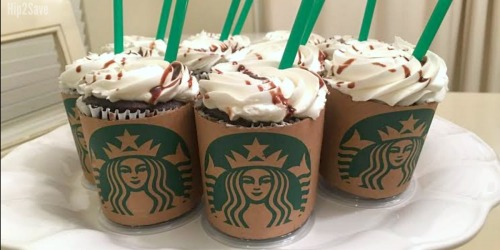 Starbucks Fans! Turn Ordinary Cupcakes into Starbucks Lattes…