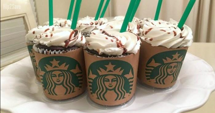 Starbucks Fans! Turn Ordinary Cupcakes into Starbucks Lattes…