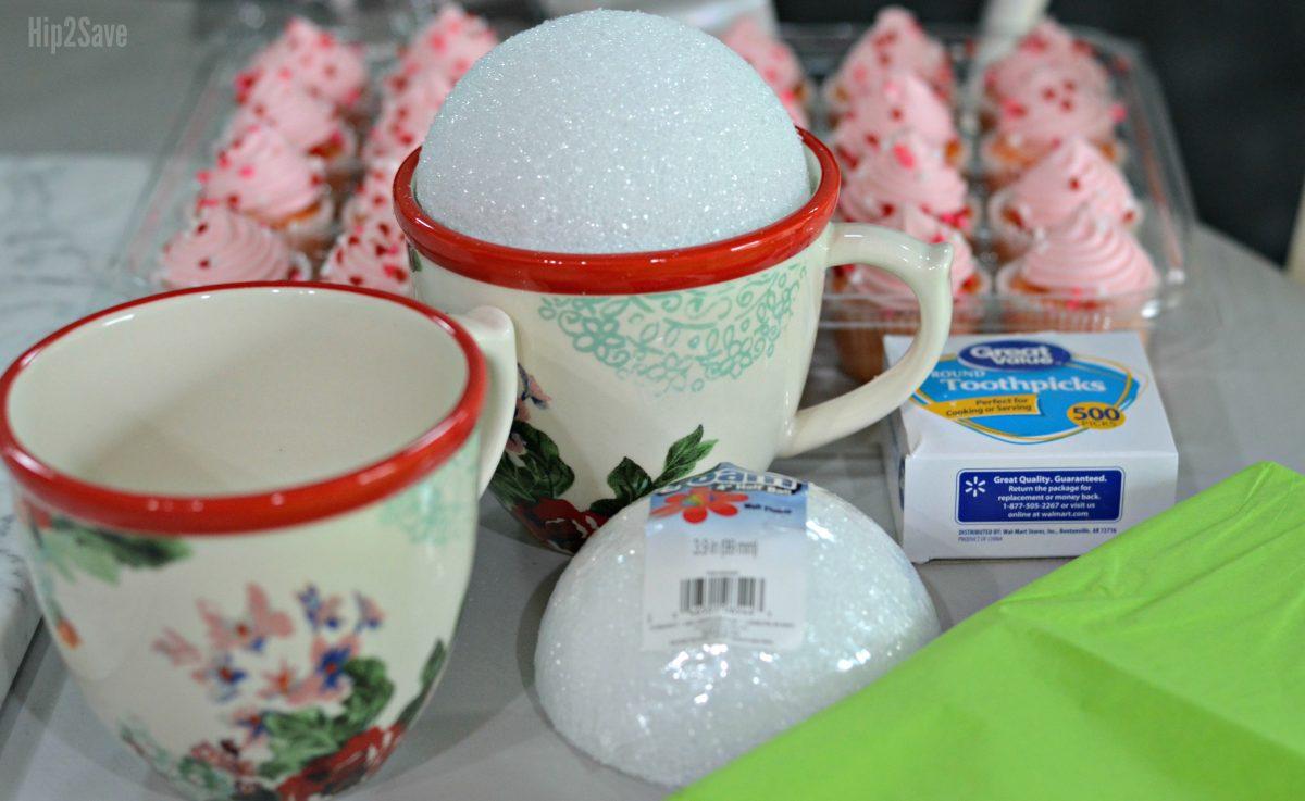 supplies-to-make-a-mini-cupcake-bouquet