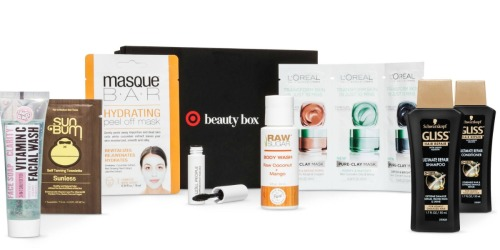 Target.com: February Beauty Box ONLY $10 Shipped ($38 Value)