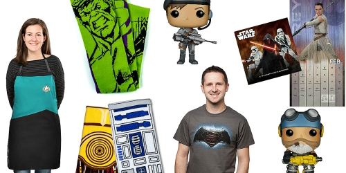 ThinkGeek: Up to 83 % Off Clearance = $1.99 Vinyl Pop, $4.99 Tees, $6.25 Star Wars Towel Set + More