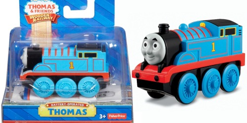 Amazon: Fisher-Price Thomas the Train Wooden Railway Thomas Only $12.49 (Regularly $22.99)