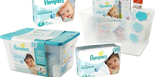 ToysRUs.com: Pampers Swaddlers Sensitive Diaper Tote Only $19.99 (Over $100 Value)