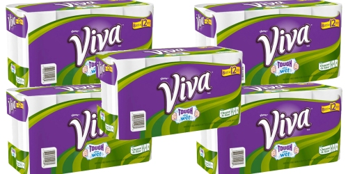 Target: 40 Giant Viva Paper Towel Rolls ONLY $36.24 Shipped – Just 91¢ Each