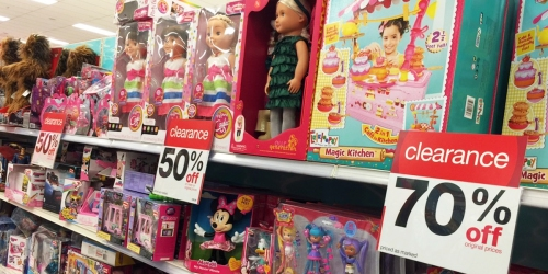 Target: Toy Clearance NOW 50%-70% Off (Star Wars, Monster High, Marvel, Bratz, Disney & More)