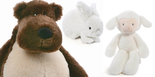 Target.com: Select GUND Plush Stuffed Animals Only $8.80 (Regularly $17.59)
