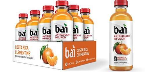 Amazon Prime: Bai Costa Rica Clementine Beverages Just 84¢ Each Shipped & More