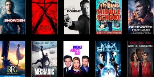 VUDU.com: 20% Off Your Next Rental OR Digital Movie Purchase