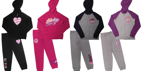 Walmart: Danskin Now Girls' Graphic Fleece Hoodies Or Joggers Only $4.50 Each (Reg. $9.98)