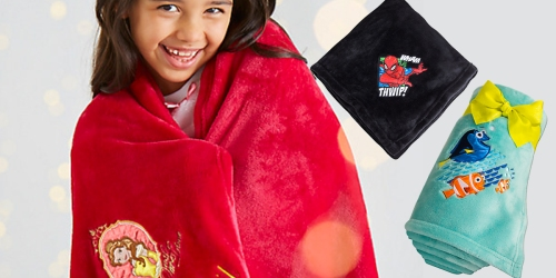 DisneyStore.com: Extra 25% Off Select Items = Fleece Throws Only $5.99 (Regularly $19.95) & More