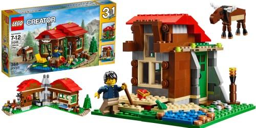 LEGO Creator Lakeside Lodge Only $19.19 (Regularly $29.99)