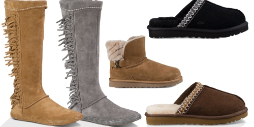 UGG.com: Up To 50% Off Select Styles = Women's Mammoth Boots Only $99.99 (Reg. $150) & More