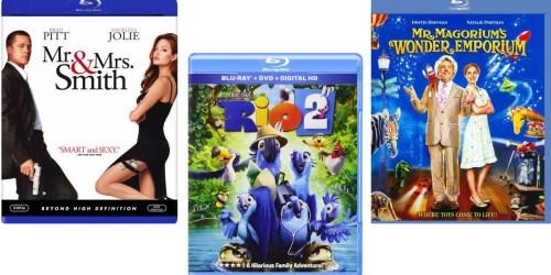$5 Blu-Ray Movies – Rio, Mr. & Mrs. Smith, Mr. Magorium's Wonder Emporium & More
