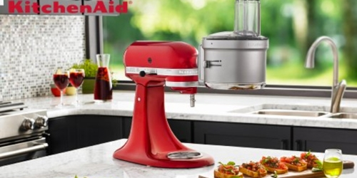 KitchenAid Food Processor Attachment w/ Commercial Dicing Kit Only $110.99 Shipped