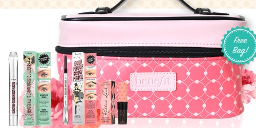 Benefit Cosmetics: Brow Bootcamp Custom Beauty Kit w/ Makeup Bag Only $38 ($76 Value)