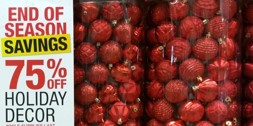 Home Depot: 75% Off In-Store Christmas Clearance = $9.99 Tree Dazzler, $19.99 6.5ft Pre-Lit Tree & More