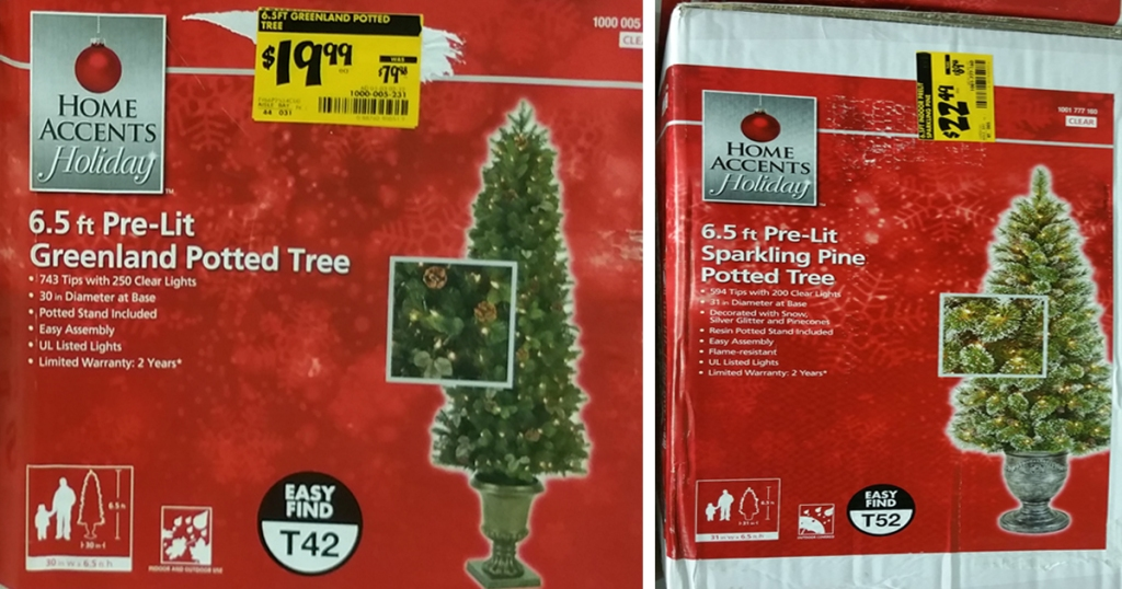 Home Depot: 75% Off In-Store Christmas Clearance = $9.99