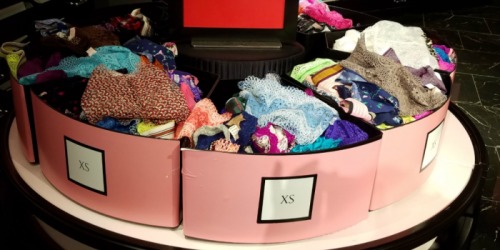 Victoria's Secret: Panties 5/$15 OR $3 Each (In-Store Only)