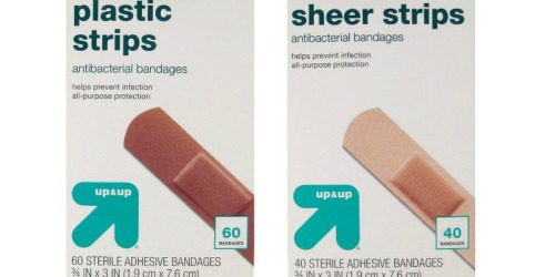 Target.com: $2 Off Up & Up Healthcare Purchase = Antacid Only 4¢, Bandages 25¢ + More