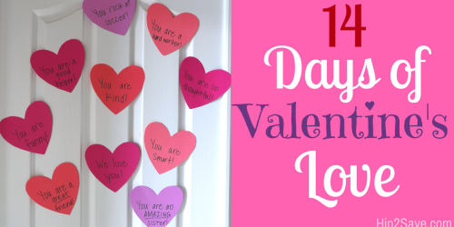 Shower Your Kids with 14 Days of Valentine's Love