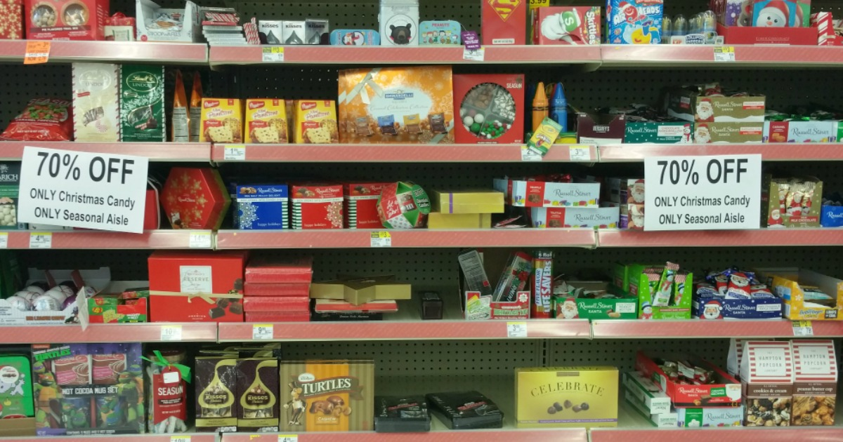 Walgreens 70 Off Christmas Clearance Save On Candy