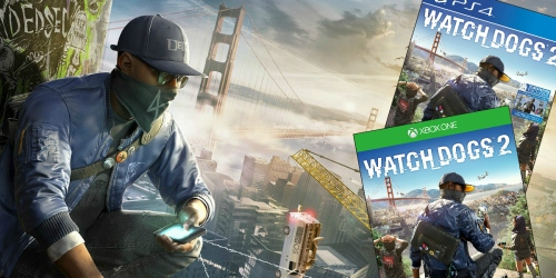 Amazon: Watch Dogs 2 PlayStation4 or Xbox One Video Game Only $39.99 (Regularly $59.99)