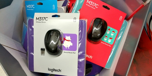 Staples: Logitech Wireless Mouse w/ Bonus Holiday Mouse Pad Just $7 (Reg. $29.99) – In Store Only