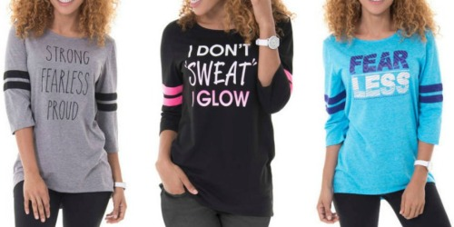 Walmart.com: Women's Graphic Tees Only $5 Each (Regularly 12.96)
