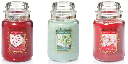 Yankee Candle: $5 Cookie Swap Large Jar Candle w/ Every $25 Purchase (In-Store & Online)