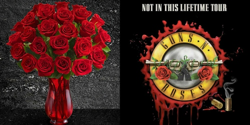 1-800Flowers.com: 24 Red Roses w/ Red Vase + 2 Guns N' Roses Tickets As Low As $61.59 Shipped (1st 500)