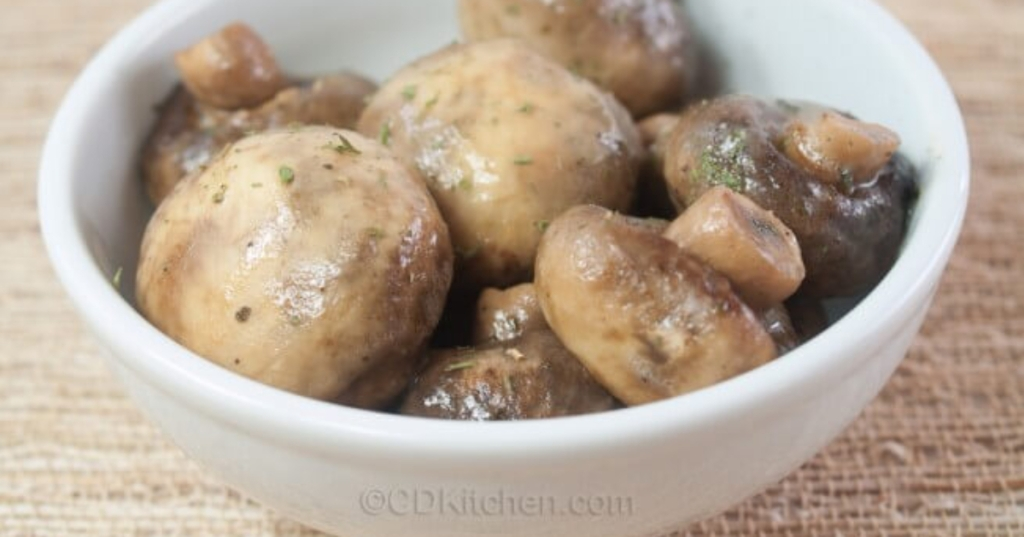 slow cooker ranch mushrooms