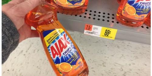 Walmart: Ajax Liquid Dish Soap 12oz Bottle Only 63¢