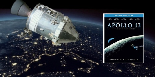 20th Anniversary Edition of Apollo 13 Blu-ray + Digital HD Combo Pack Only $5.99 (Regularly $14.98)
