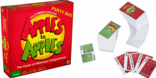 Mattel Apples to Apples Party Box Card Game Only $9.99 (Regularly $19.99)