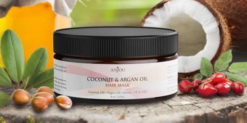 Amazon: Anjou Argan Oil Hair Mask Only $7.79 (Regularly $12.99+)