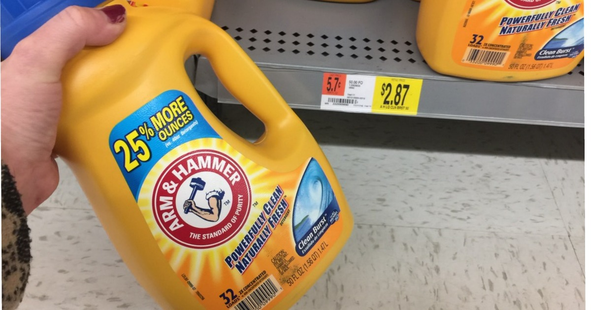 New 1 1 Arm Amp Hammer Liquid Laundry Detergent Coupon